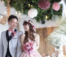 北野クラブsola cute ピンクドレス