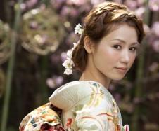 相楽園 パステルグリーン 桜