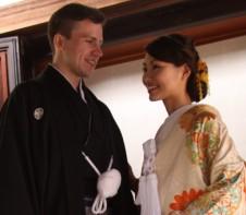 国際結婚 神社