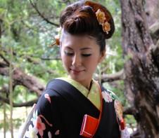 神戸迎賓館須磨離宮 和装婚 ヘアメイク