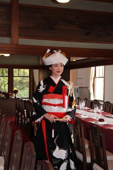 神戸迎賓館須磨離宮 和装婚 ヘアメイク FLORE