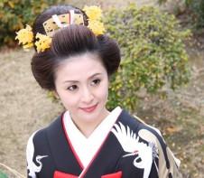 ミス日本 和髪 鬘 かんざし