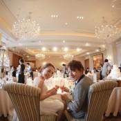 ラスイート神戸ハーバーランド FLORE weddingstylist ダウンスタイル アレンジ