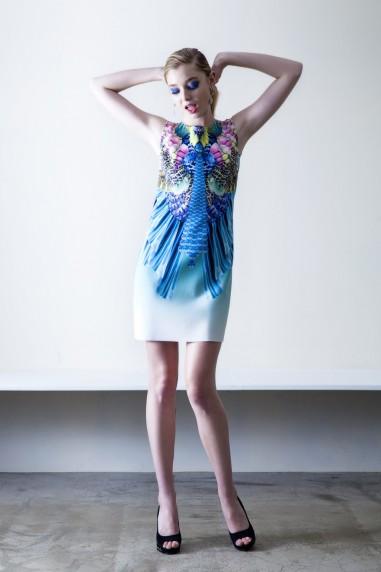 ファッション コレクション ヘアメイク アパレル撮影 lareine リップ ヘアメイク