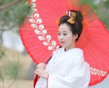 ブライダル ヘアメイク 和装 白無垢 日本髪 オーシャンズガーデン